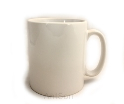Plain White Mugs 11oz